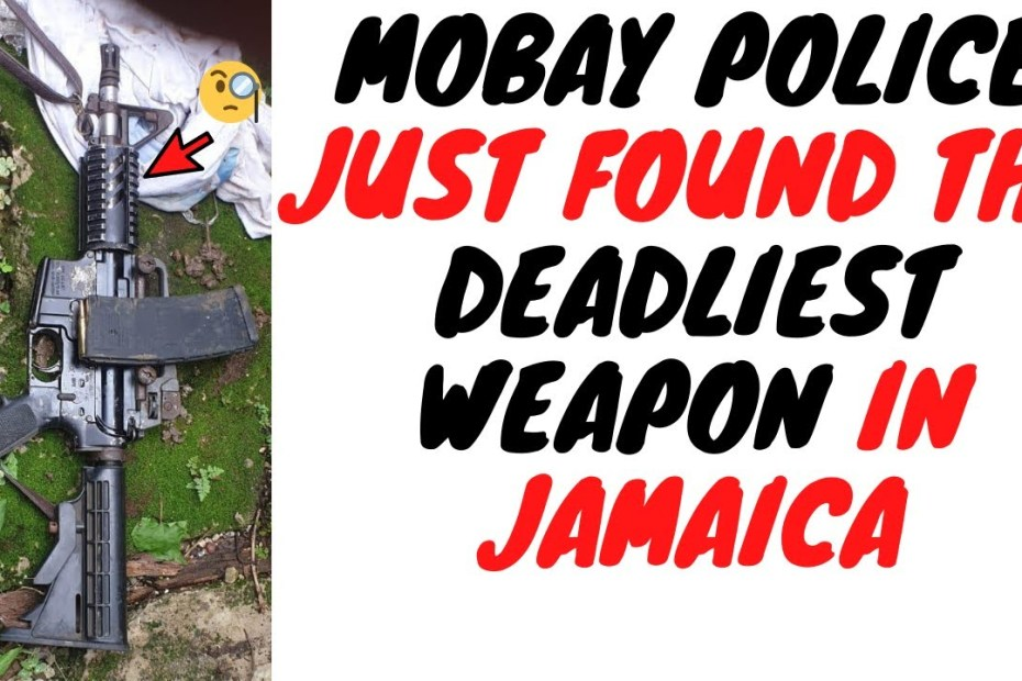 This Is The Weapon That Has Changed The Game For Criminals In Jamaica