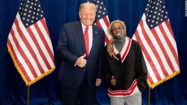 Lil Wayne endorses Trump ahead of US Election