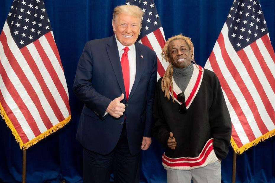 Lil Wayne endorses Trump ahead of US Election