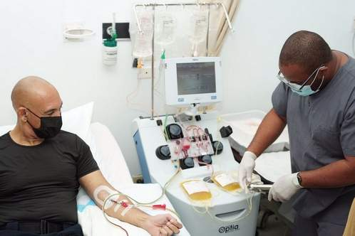 Commissioner donates plasma after COVID-19 recovery