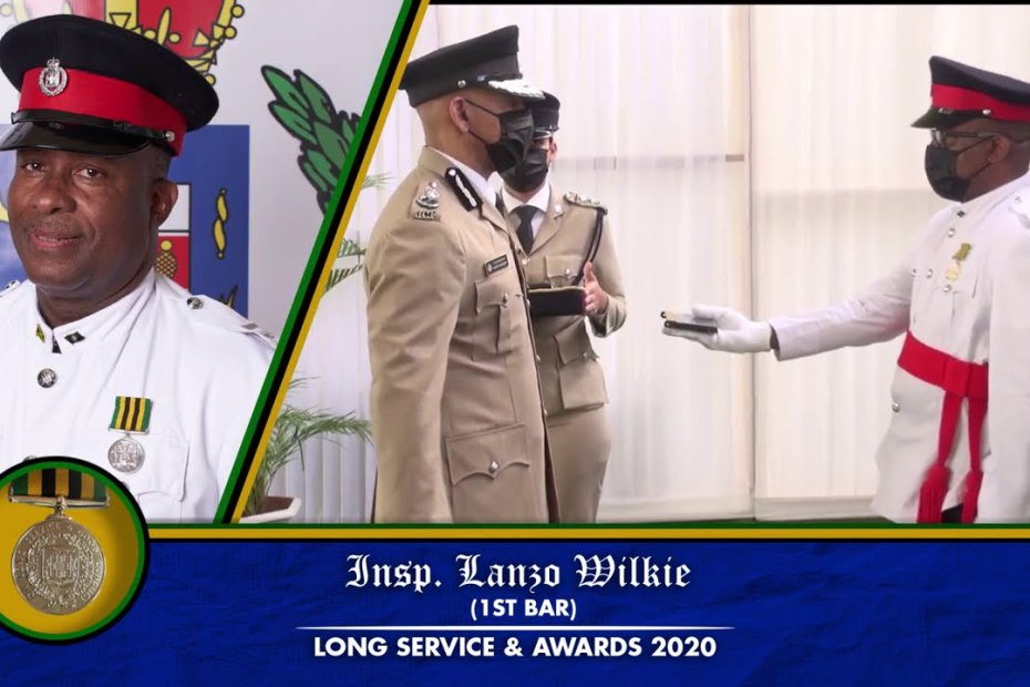 "Jamaica Constabulary Force ""Long Service & Awards Ceremony 2020"""