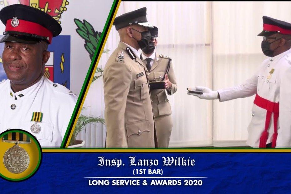 "Jamaica Constabulary Force ""Long Service & Awards Ceremony 2020"""