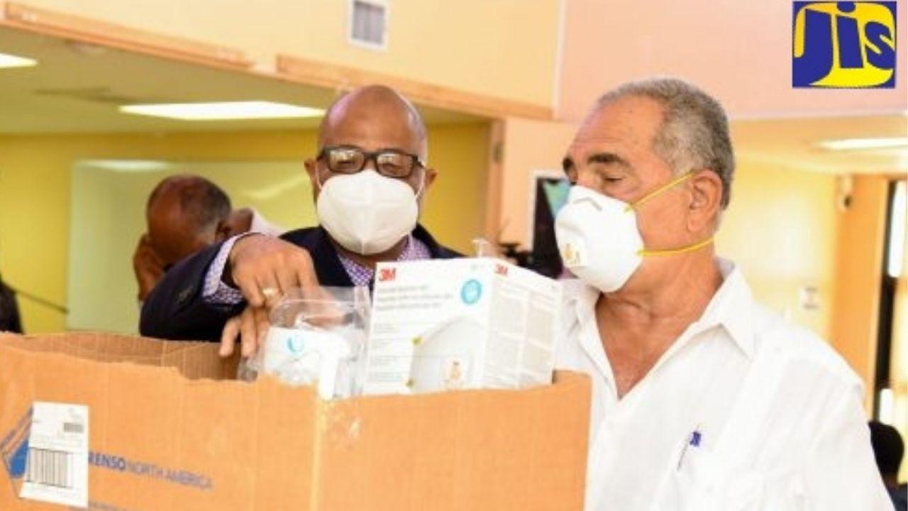 PHOTOS: Medical Supplies Donated to May Pen Hospital
