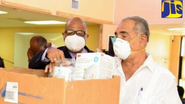 PHOTOS: Medical Supplies Donated to May Pen Hospital