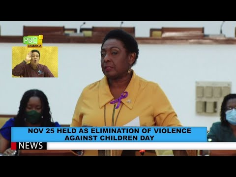 Nov 25 Held As Elimination Of Violence Against Children's Day