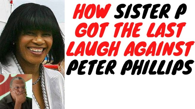Peter Phillips Live To Regret His Disastrous Challenge To Portia Simpson Miller