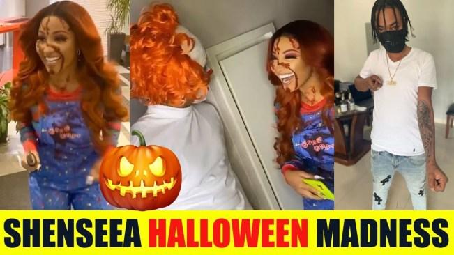 Shenseea Stabbing Folks On Halloween