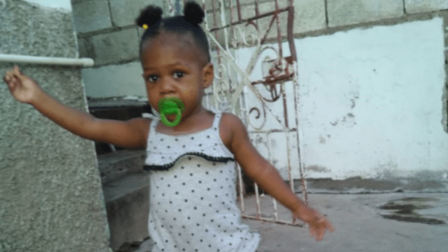 Toddler Abducted in St James