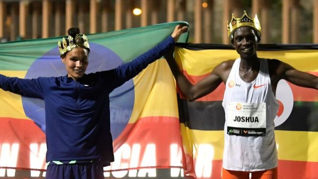 Gidey's 5000m and Cheptegei's 10,000m World records ratified