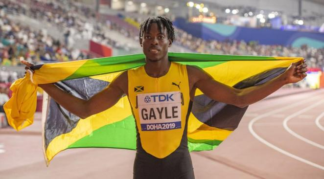 World champion long jumper Tajay Gayle recognised at Prime Minister's Youth Awards