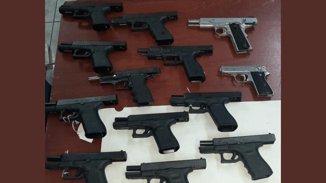 Cops Seize 19 Guns, Ammo at Mobay Wharf