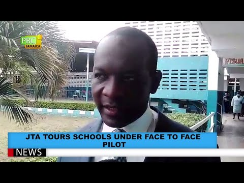 JTA Tours Schools Under Face To Face Pilot