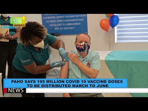 PAHO Says 195 Million COVID-19 Vaccine Doses To Be Distributed March To June