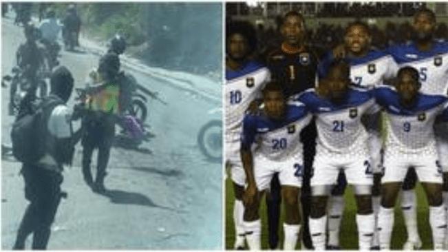 Belize Football Team Bus Held up by Armed Gang in Haiti