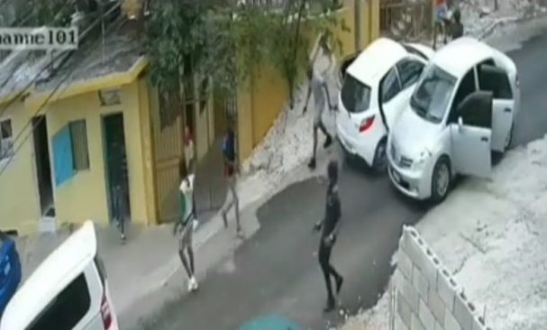 FOOTAGE: Fadagad friends Reportedly Revenge his Killing in this Shooting – Video