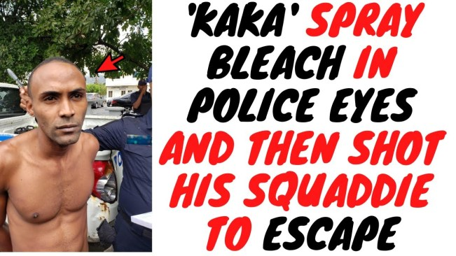Ricardo 'Kaka' Richards Used Bleach And Timing To Escape From Police Custody