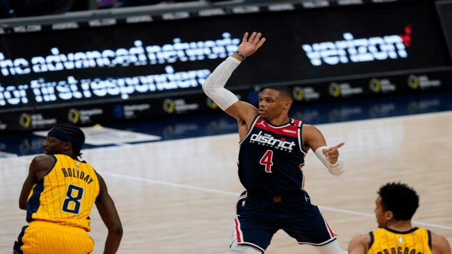Russell Westbrook makes historic triple-double for Washington Wizards
