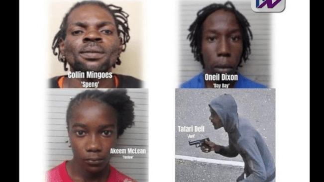 Police said, five gunmen fatally shot in August Town, on Wednesday, were Hardcore criminals