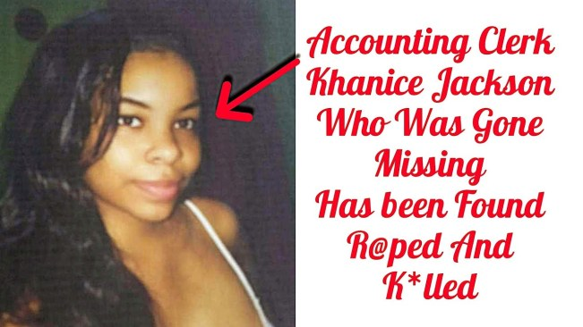 Justice for Khanice Jackson!! Entertainers Call for an End to Violence Against Women