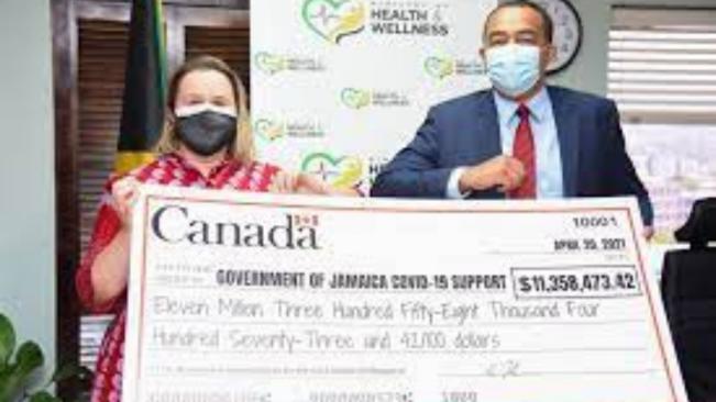 Canada Donates JMD$11.3 Million towards COVID-19 Field Hospitals in Jamaica