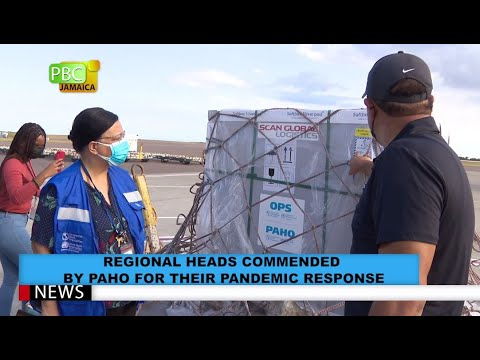 Regional Heads Commended By PAHO For Their Pandemic Response