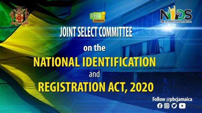 Joint Select Committee on The National Identification and Registration Act 2020 – May 17, 2021