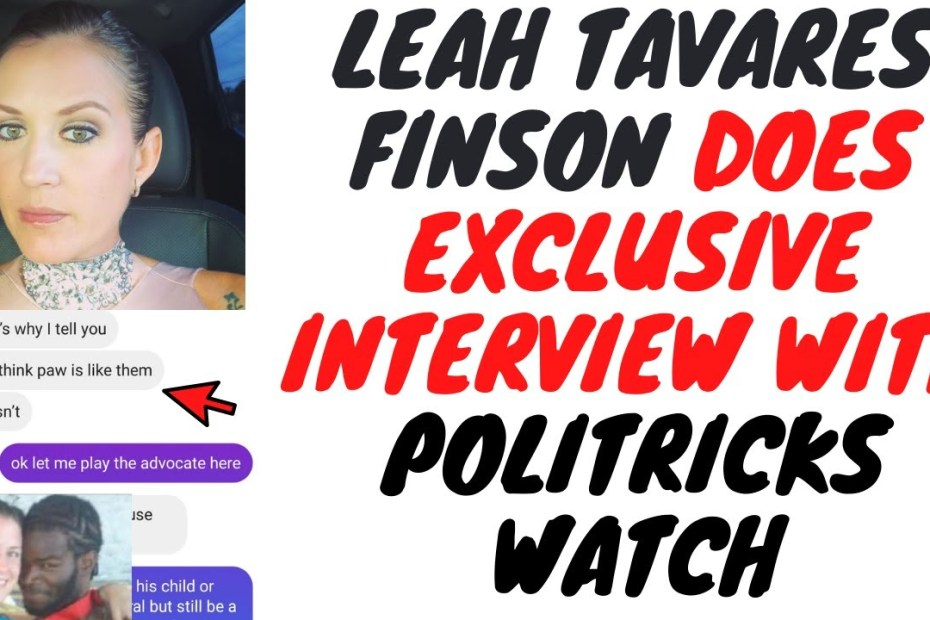 Leah Tavares Finson Talks About Dog Paw, Her Family Reputation And More!