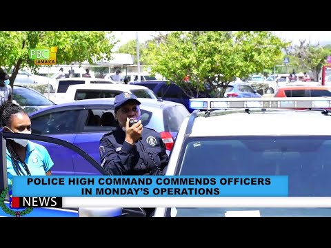 Police In High Command Commends Officers In Monday's Operations