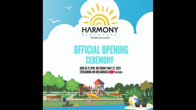 Urban Development Corporation – Opening of the Harmony Beach Park in Montego Bay