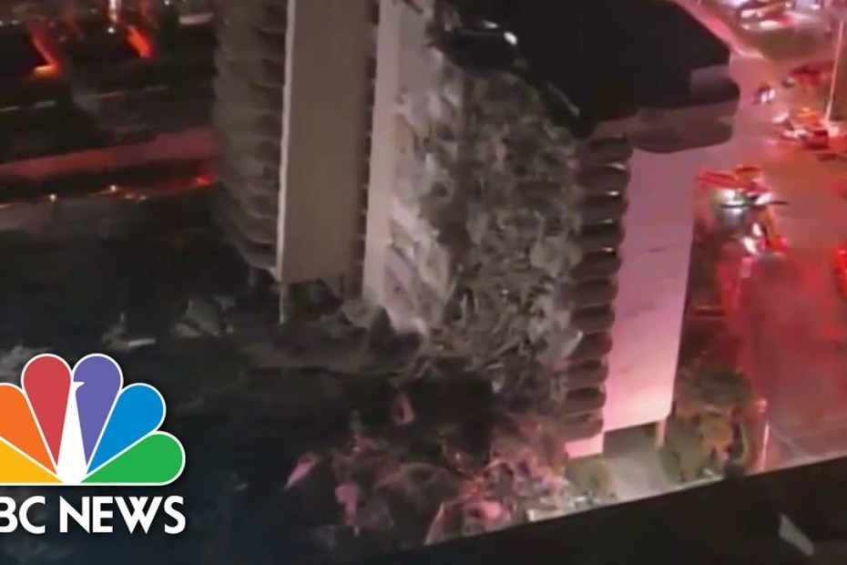 Building Collapse Near Miami Prompts Massive Emergency Response