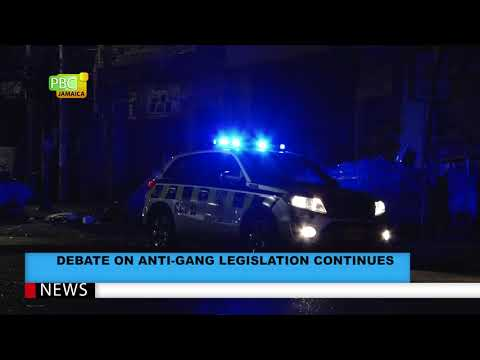 Debate On Anti Gang Legislation Continues