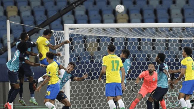 Ecuador draw ends Brazil winning run in Copa America