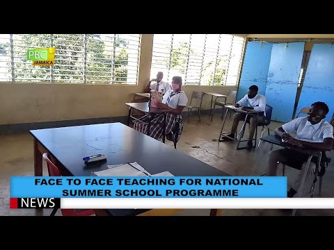 Face To Face Teaching For National Summer School Programme