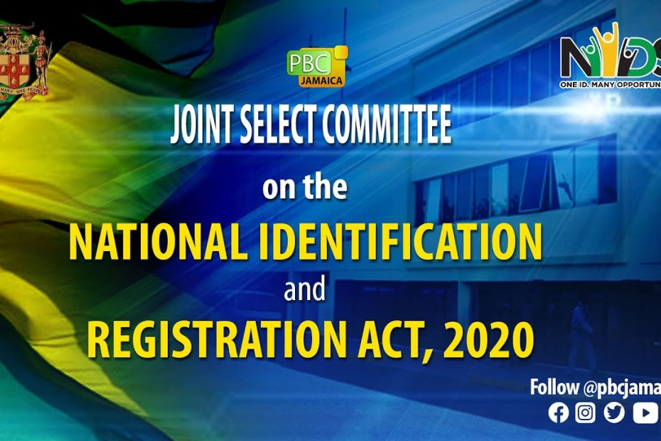 LIVE NOW: Joint Select Committee on the National Identification & Registration Act, 2020 – June 23, 2021