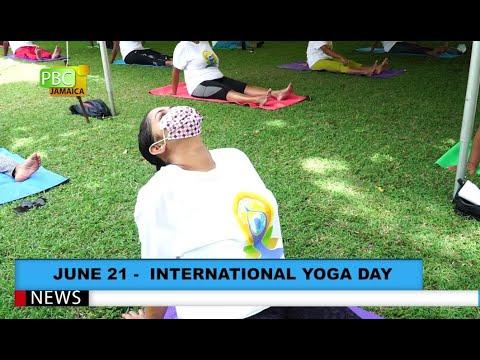 June 21 – International Yoga Day