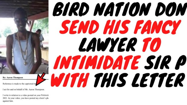 """Maxfield Don Birdy Send Lawyer To Stop """"Sir P"""" Exposing Him But It Backfired"""