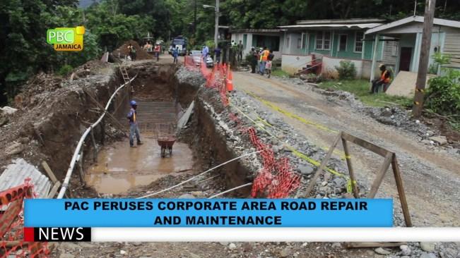 PAC Peruses Corporate Area Road Repair And Maintenance