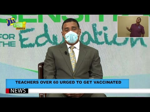 Teachers Over 60 Urged To Get Vaccinated