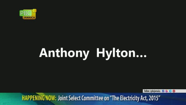 """The Joint Select Committee on the """"Electricity Act, 2015""""    June 17, 2021"""