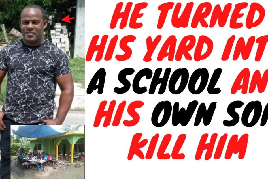 Father Gets Killed By His own Son After Being Hailed A Local Hero Recently