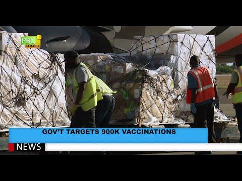 Gov't Targets 900K Vaccinations