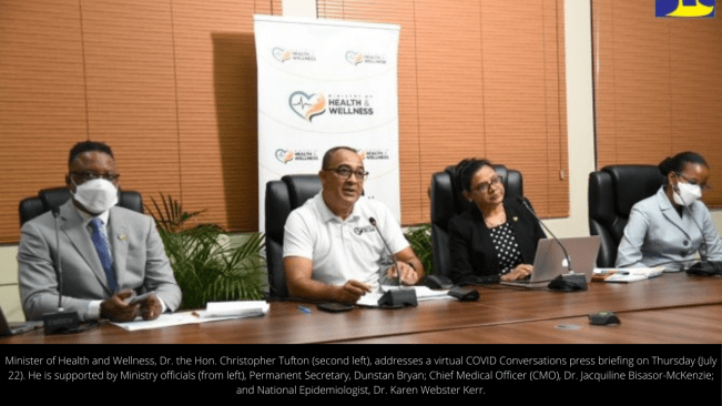 Health Minister Urges Vaccinated Persons to Comply with COVID-19 Safeguards