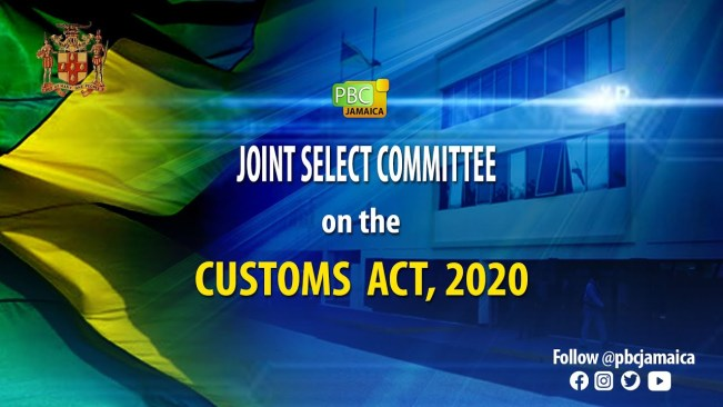 Joint Select Committee on The Customs Act, 2020 – July 8, 2021