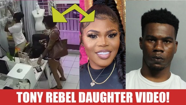 Tony Rebel Daughter Diss Her Father with this?