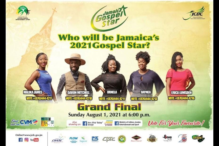 JCDC Jamaica Gospel Star 2021 – Final