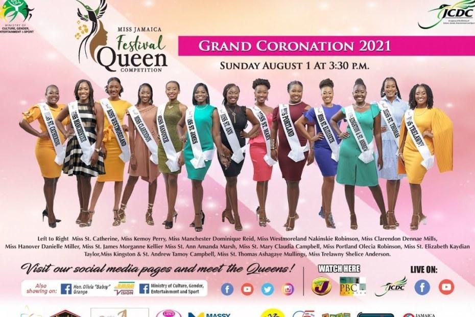Jamaica Festival Queen Coronation 2021