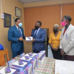 PM Presents Over 40 Tablets For East Kingston And Port Royal Students