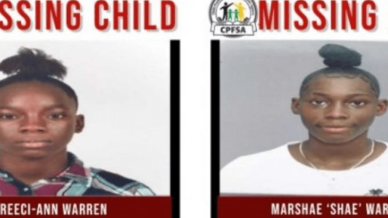 Teen Sisters Missing from,St.Catherine