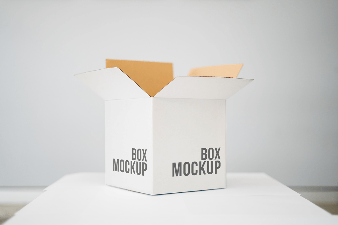 Download Free Box Mockup - Free Mockup Download
