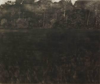 Les adieux Marguerite - tempera sur toile 180 x 160 cm - collection particulière